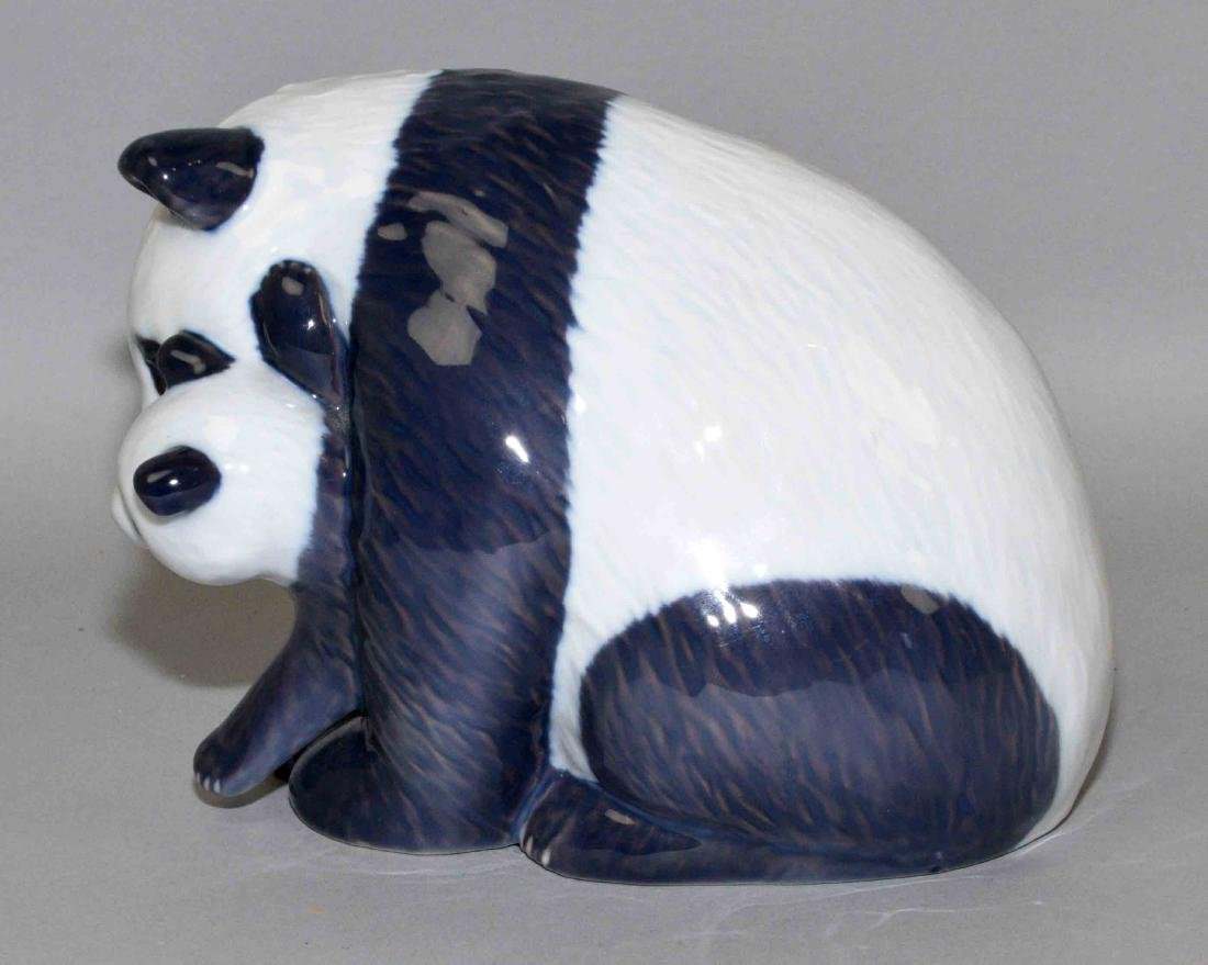 ROYAL COPENHAGEN PANDA BEAR AND CUB, 5''H. - 2