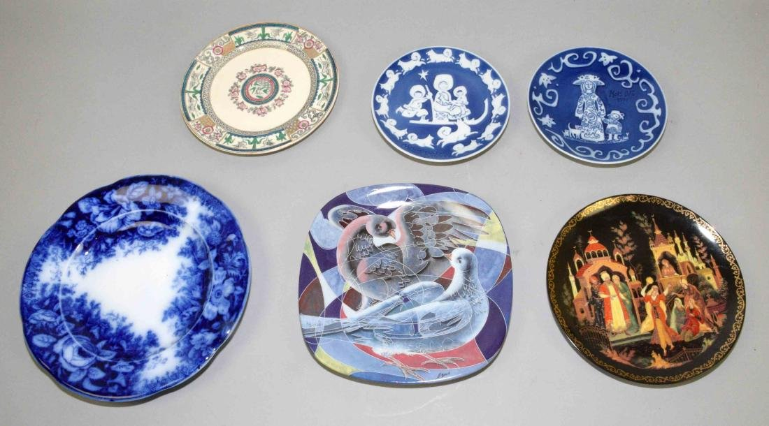 (6) PIECE PLATE COLLECTION, including Rosenthal,