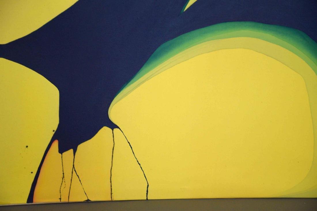 ELIZABETH HARRIS, Abstract Landscape, acrylic on canvas - 3
