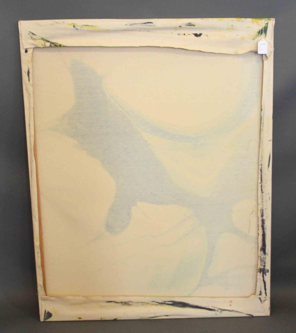 ELIZABETH HARRIS, Abstract Landscape, acrylic on canvas - 5