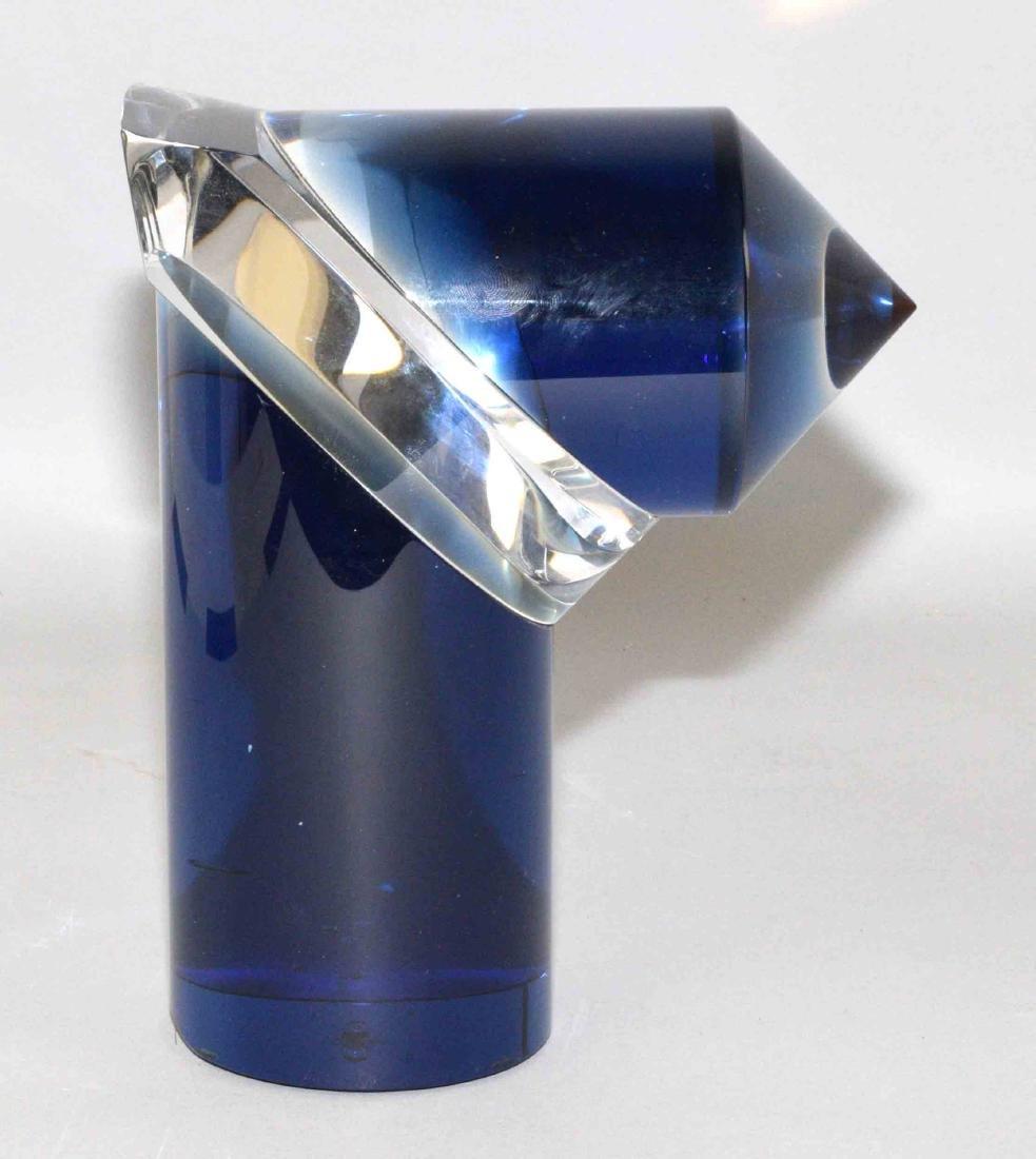 LATCHEZAR BOYADJIEV ABSTRACT ART GLASS SCULPTURE,