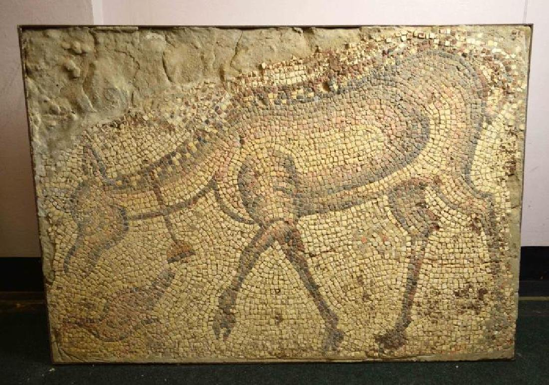 ROMAN MOSAIC FROM ANTIOCH. 1st - 5th C. AD. Roman