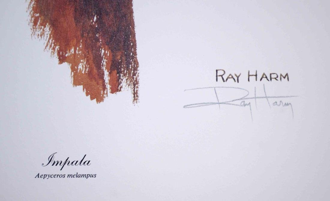 RAY HARM, LITHOGRAPH COLLECTION, each pencil signed and - 2