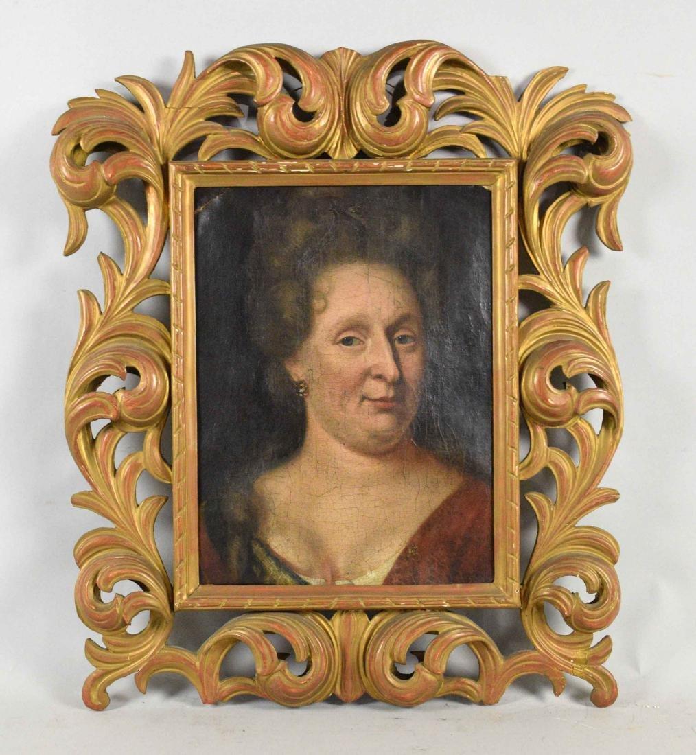 ENGLISH SCHOOL (18TH CENTURY). Portrait of a Lady. Oil - 2