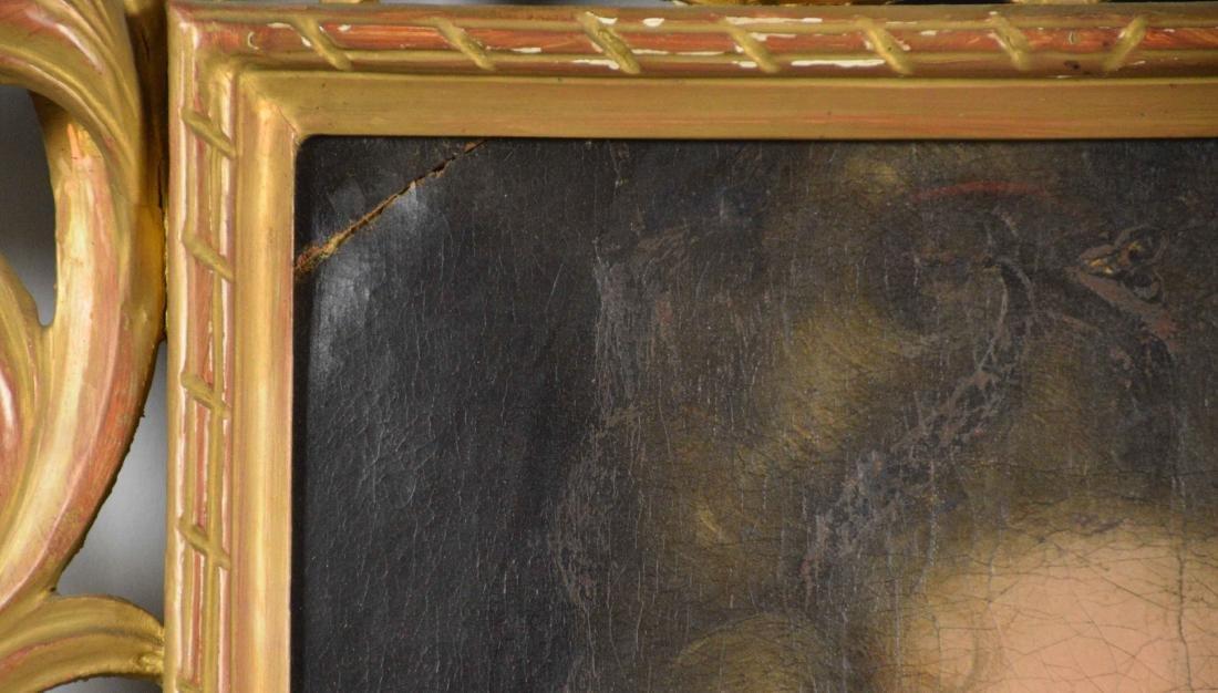 ENGLISH SCHOOL (18TH CENTURY). Portrait of a Lady. Oil - 3