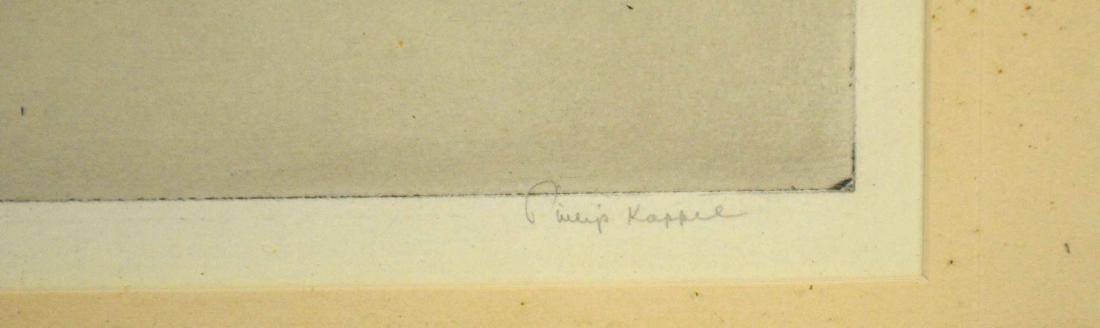 PHILIP KAPPEL (1901-1981). Haiti. Etching signed in - 3