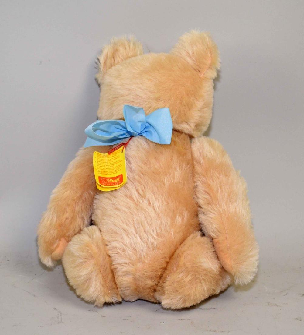 STEIFF BEAR (0201/41), blond mohair bear, original tags - 2