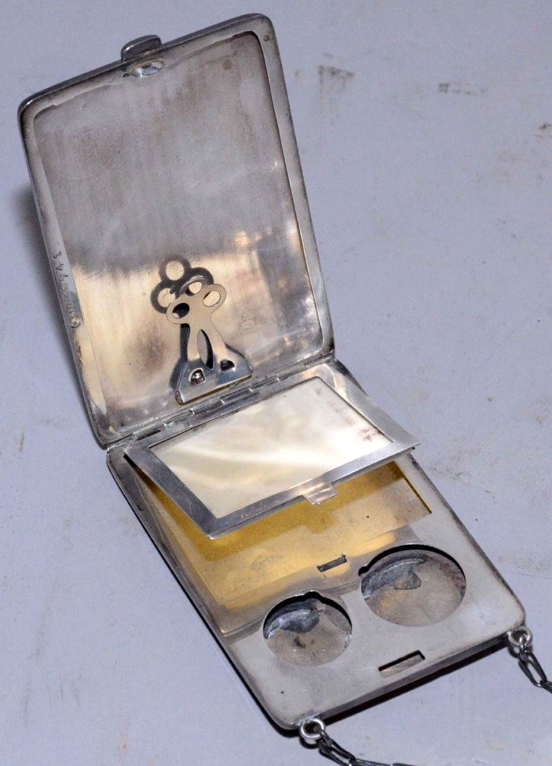 COLLECTION OF ASSORTED STERLING SILVER OBJECTS. - 12