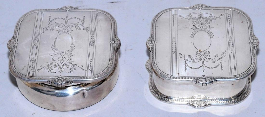 COLLECTION OF ASSORTED STERLING SILVER OBJECTS. - 2