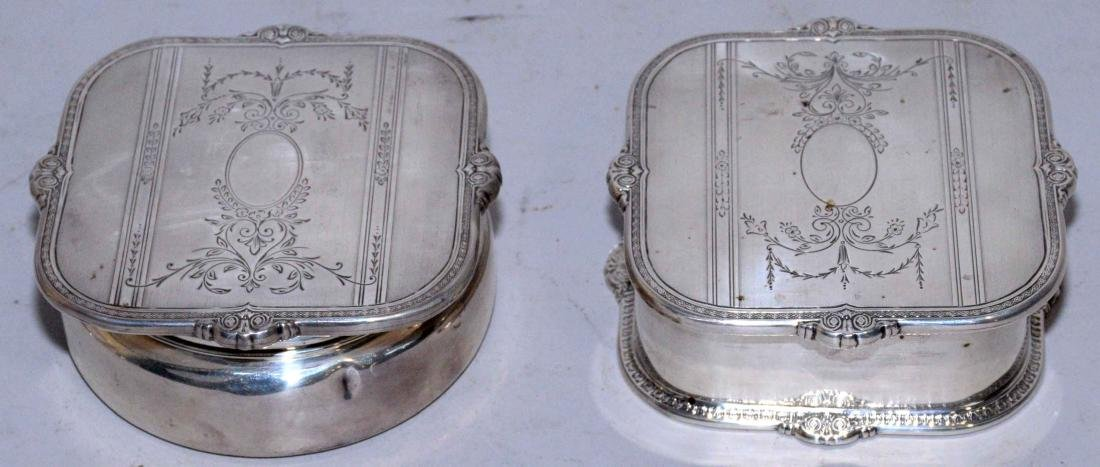 COLLECTION OF ASSORTED STERLING SILVER OBJECTS. - 3