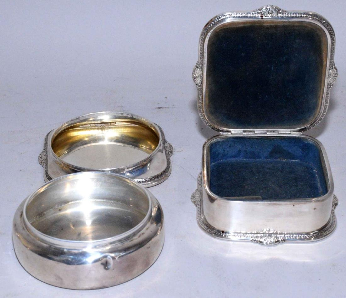 COLLECTION OF ASSORTED STERLING SILVER OBJECTS. - 4