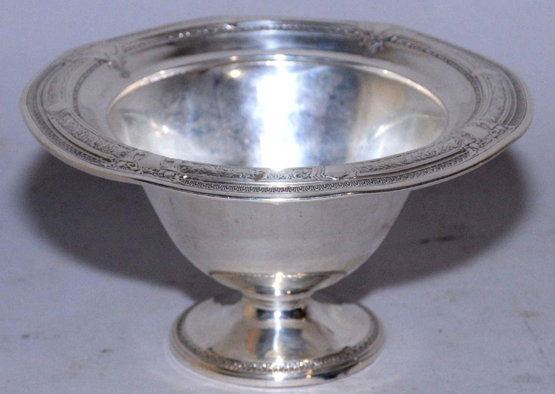 COLLECTION OF ASSORTED STERLING SILVER OBJECTS. - 5