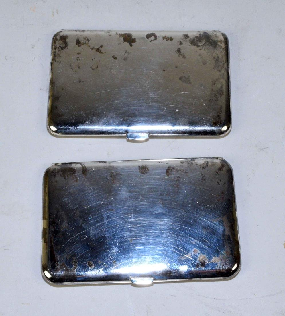 THREE THAI CIGARETTE BOXES. Sterling, beautifully - 7
