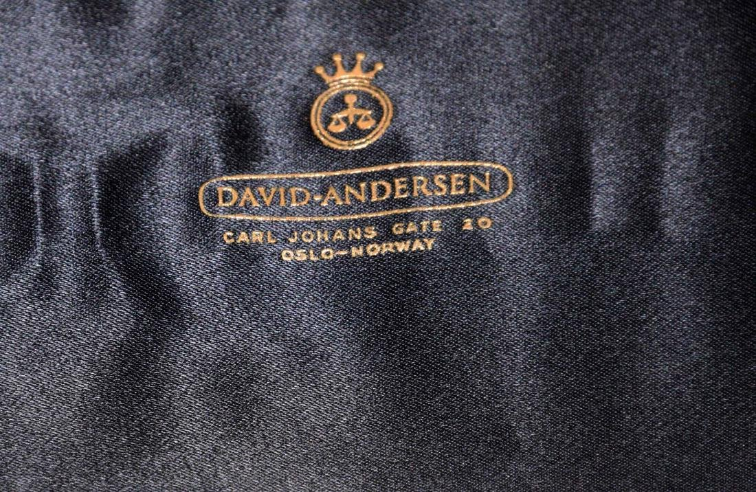 DAVID ANDERSEN, NORWAY, Sterling cake server and David - 9