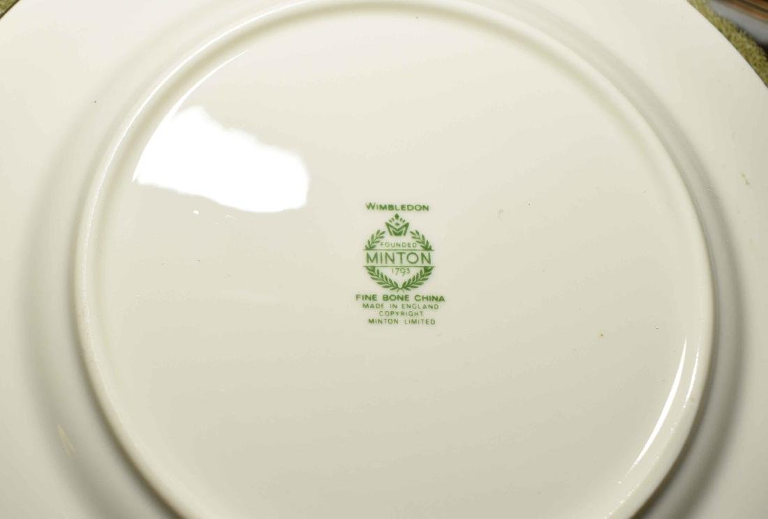 MINTON FINE BONE CHINA, ''Wimbledon'' pattern, dinner - 3