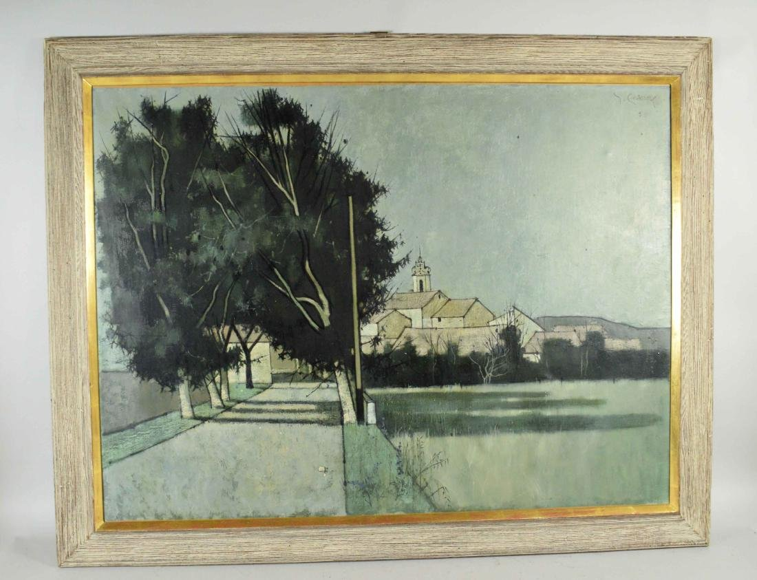 ARTIST UNKNOWN (20th Century). Serignan. Signed - 2