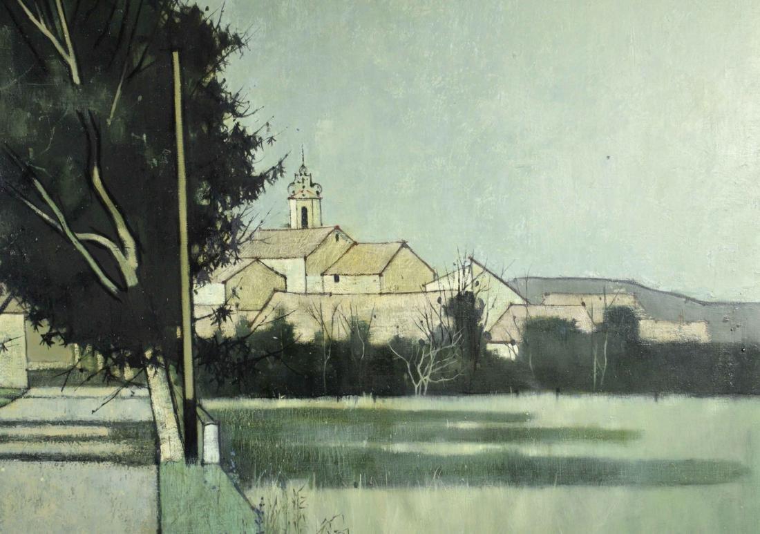ARTIST UNKNOWN (20th Century). Serignan. Signed - 3