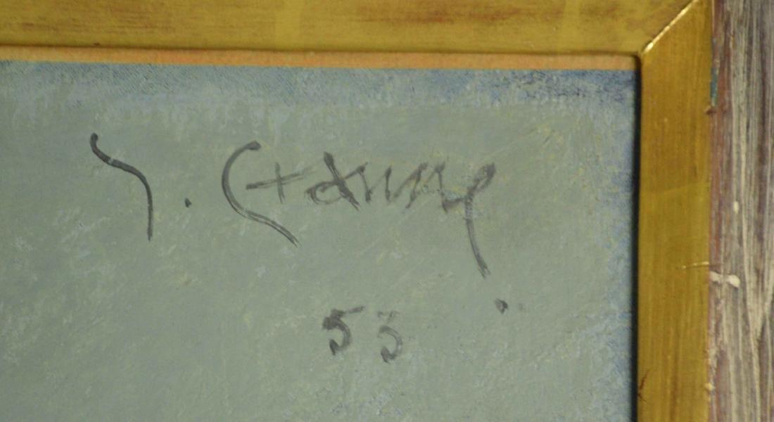 ARTIST UNKNOWN (20th Century). Serignan. Signed - 4