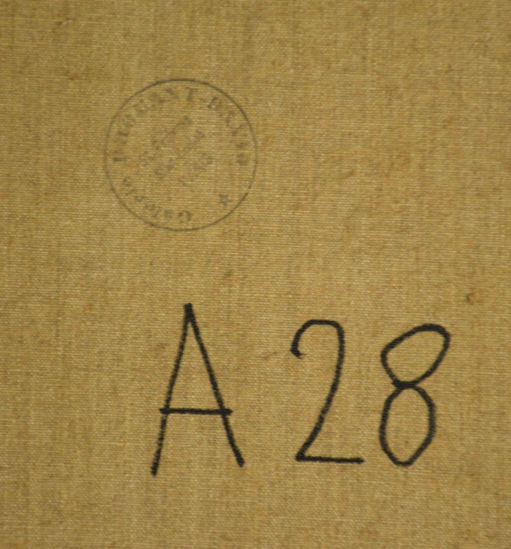 ARTIST UNKNOWN (20th Century). Serignan. Signed - 7