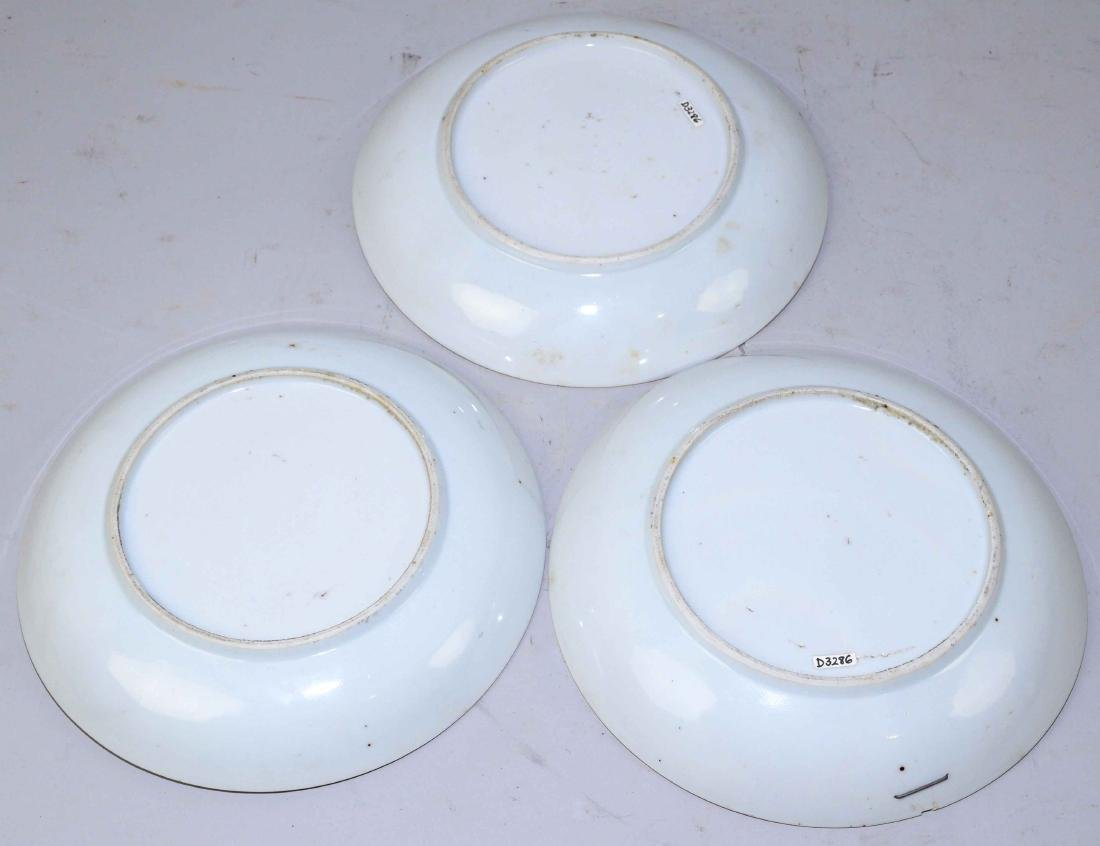 A GROUP OF THREE CHINESE EXPORT PORCELAIN SHALLOW - 5