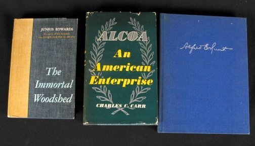 2039: 3 ALCOA RELATED BOOKS. (1) The Immortal Woodshed: