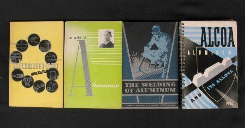 2047: 4 ALCOA BOOKLETS Four Art Deco booklets produced