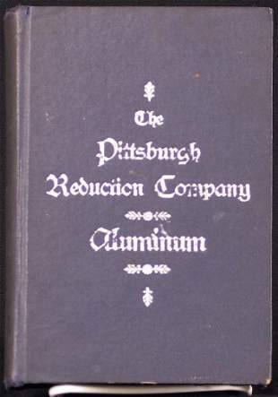 1904 PGH REDUCTION CO. BOOK. Copyright 1897, publ