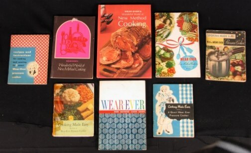 2056: 8 WEAR EVER COOK BOOKS. (1) 1946. Cooking Made Ea