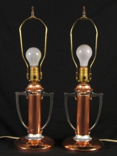 2477: PR ALCOA ALUMINUM LAMPS.