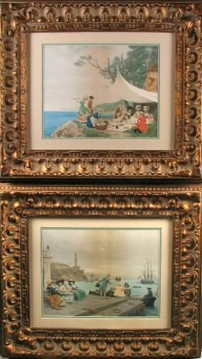 PAIR OF LUCIUS ROSSI PRINTS. Late 19th / early 2