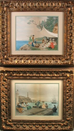 3019: PAIR OF LUCIUS ROSSI PRINTS.  Late 19th / early 2