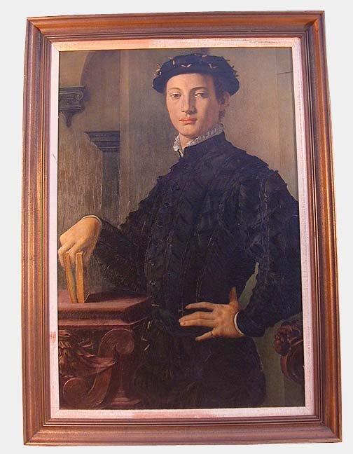 1016: REPRODUCTION OF BRONZINO'S PORTRAIT OF