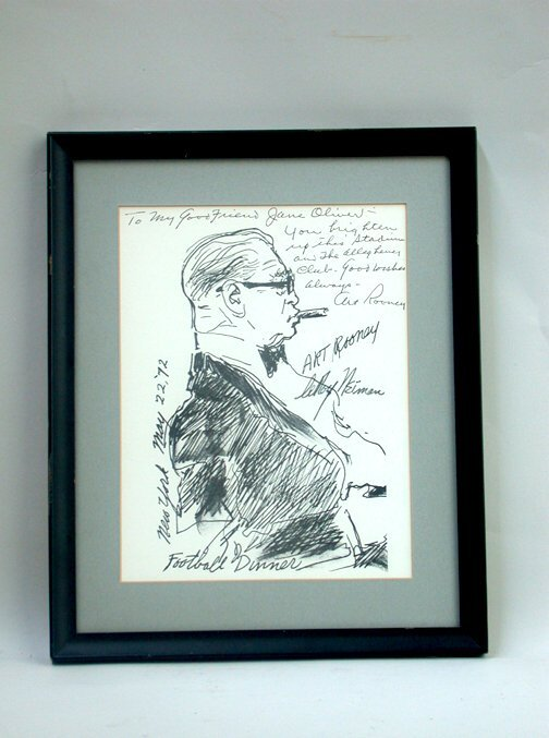 1018: ART ROONEY SIGNATURE. This image is a p