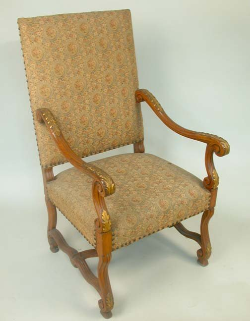 2020: GREAT CHAIR FRANCO/FLEMISH TRADITION. C
