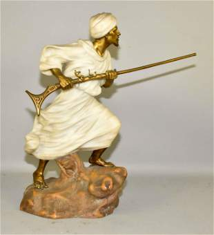 AFFORTUNATO GORY (Italian/French fl. 1895-1925). Bronze