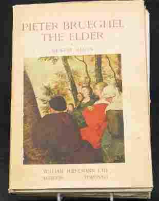 PETER BREUGHAL THE ELDER BOOK.