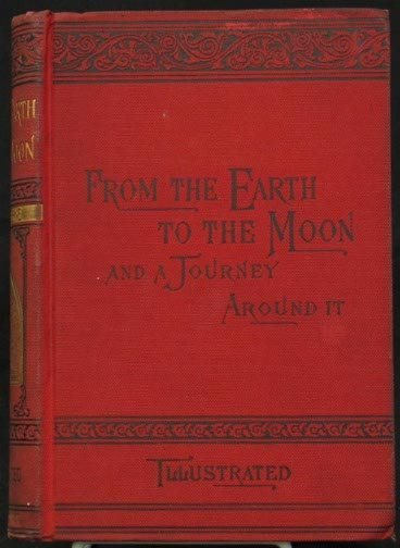 1007: FROM THE EARTH TO THE MOON, JULES VERNE