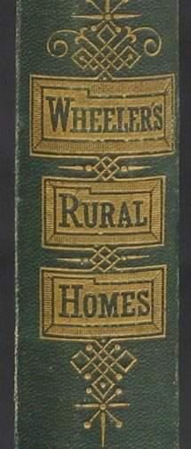 BOOK - RURAL HOMES, GERVASE WHEELER.