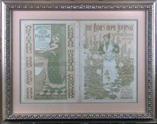 1541: LADIES HOME JOURNAL 1895 COVER