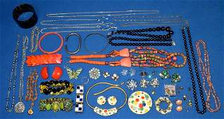 ASSORTED COSTUME JEWELRY - includes Necklaces,