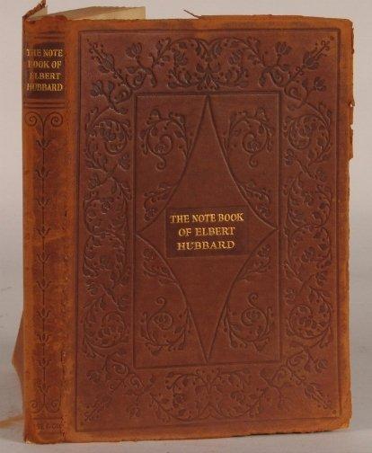 2534: NOTE BOOK OF ELBERT HUBBARD