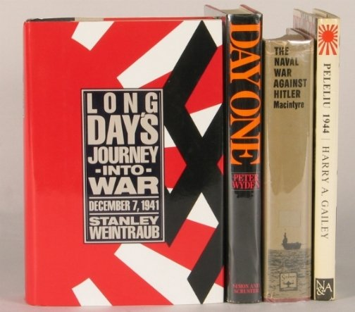 2548: FOUR WORLD WAR II BOOKS