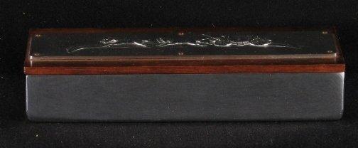 2551: KENSINGTON WARE CIGARETTE BOX