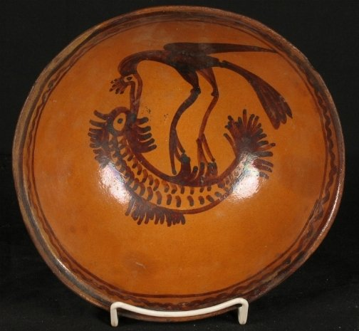 3135: INDIAN POTTERY BOWL.