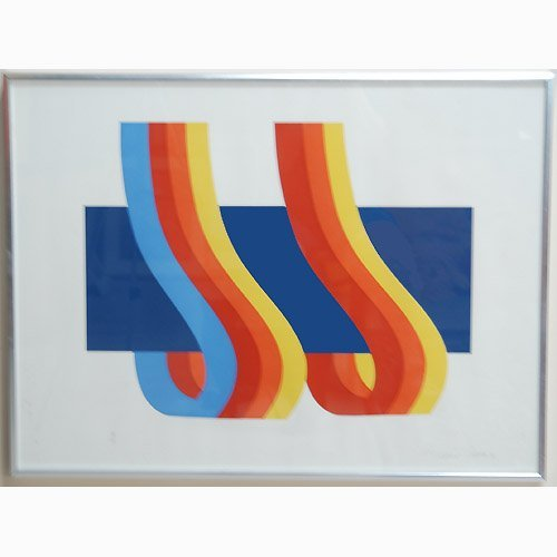 1006: PRADO; ABSTRACT LITHOGRAPH. N/R. Prado,