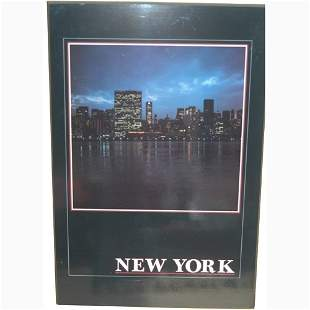 NEW YORK CITY POSTER. N/R. Poster mount