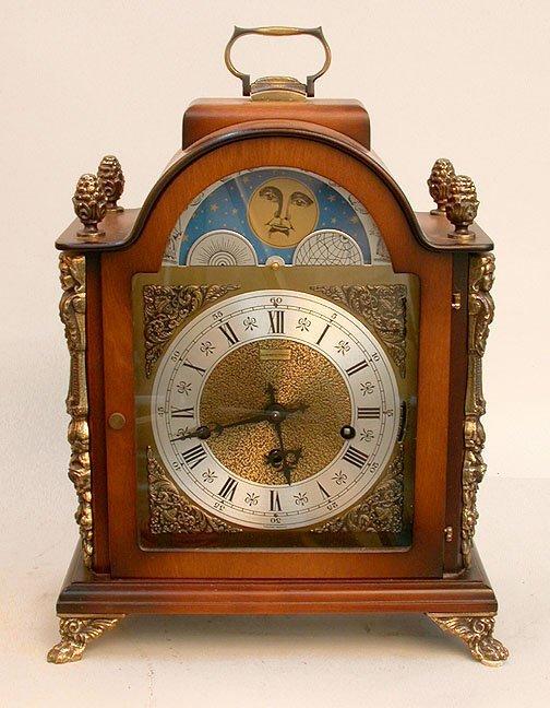 1620: HAMILTON MANTEL CLOCK. N/R. Keywind 1/4