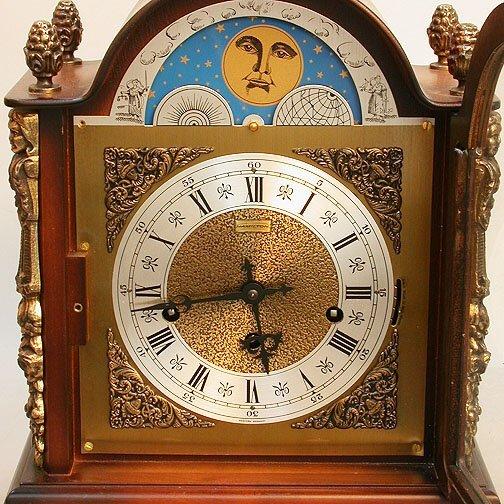 1620: HAMILTON MANTEL CLOCK. N/R. Keywind 1/4 - 2