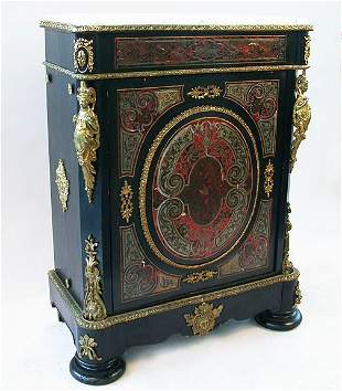 BOULLE STYLE CABINET. N/R. Louis XIV st