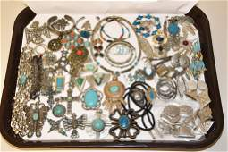 40 ASSORTED PIECES OF SOUTHWEST STYLE FAUX